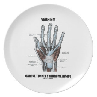 ¡Advertencia! Interior del síndrome del túnel Platos