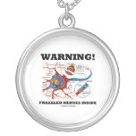 ¡Advertencia! Interior Frazzled de los nervios (ne Joyeria Personalizada