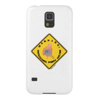 ¡Advertencia! Interior intestinal del fiesta Carcasa De Galaxy S5