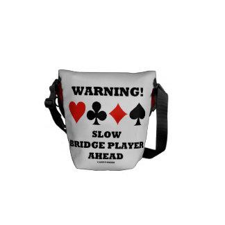 ¡Advertencia! Jugador de puente lento a Bolsas De Mensajeria
