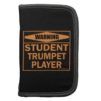 ¡Advertencia ¡Jugador de trompeta del estudiante Planificadores