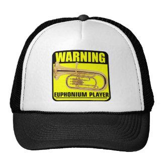 ¡Advertencia! Jugador del Euphonium Gorros Bordados