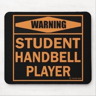¡Advertencia! ¡Jugador del Handbell del Mousepads