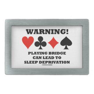 ¡Advertencia! Jugar el puente puede llevar la Hebillas De Cinturon Rectangulares