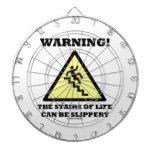 ¡Advertencia! Las escaleras de la vida pueden ser  Tabla Dardos