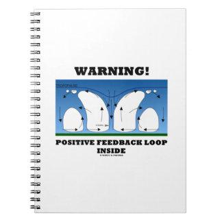 ¡Advertencia! Lazo de retroalimentación positiva Libreta