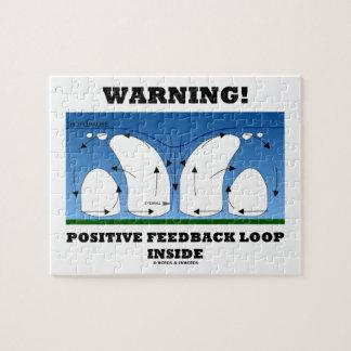 ¡Advertencia! Lazo de retroalimentación positiva Puzzle