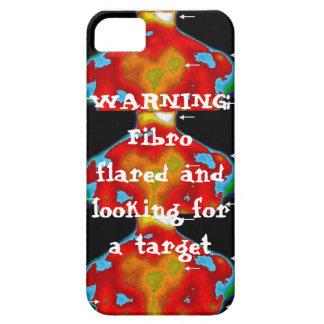 Advertencia: Llamarada fibro iPhone 5 Funda