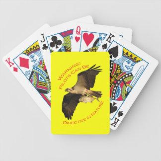Advertencia: Los pilotos pueden ser Baraja Cartas De Poker