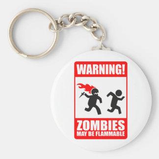 ¡Advertencia! Los zombis pueden ser llavero inflam