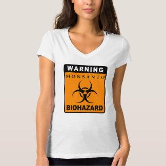 Advertencia - Monsanto: BIOHAZARD Playera
