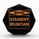 ¡Advertencia! ¡Músico del estudiante!