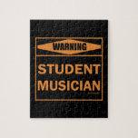 ¡Advertencia! ¡Músico del estudiante! Rompecabeza
