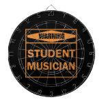 ¡Advertencia! ¡Músico del estudiante! Tabla Dardos