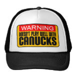 Advertencia: No juega bien con Canucks Gorro