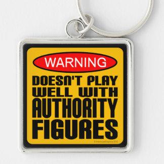 Advertencia: No juega bien con las figuras de auto Llaveros