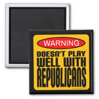 Advertencia: No juega bien con los republicanos Imán Cuadrado