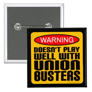 Advertencia No juega bien con los Unión-Tipos Pin
