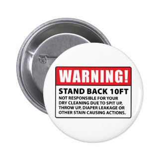 Advertencia: No responsable de la limpieza en seco Pin