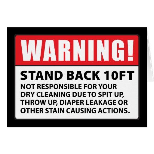 Advertencia: No responsable de la limpieza en seco Tarjeta