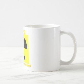 ¡Advertencia! Objeto radiactivo inminente Taza De Café