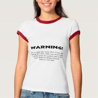¡Advertencia! Poleras