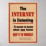 ¡Advertencia! Poster