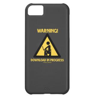¡Advertencia! Señalización en curso del humor del Carcasa iPhone 5C