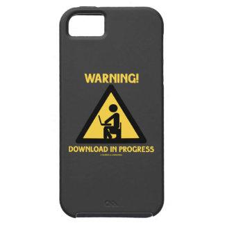 ¡Advertencia! Señalización en curso del humor del Funda Para iPhone SE/5/5s