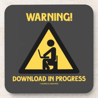 ¡Advertencia! Señalización en curso del humor del Posavaso