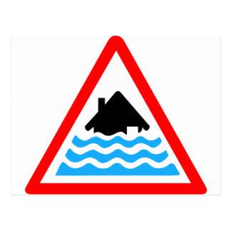 Advertencia severa de la inundación postal