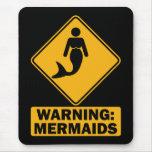 Advertencia: Sirenas Alfombrilla De Ratón