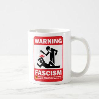 ¡Advertencia! Taza de Facism