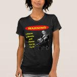 ¡Advertencia! Tengo un banjo Camiseta