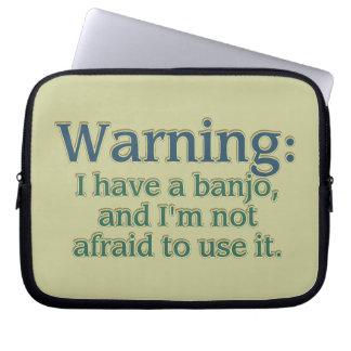Advertencia: Tengo un banjo…. Manga Computadora