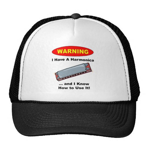 ¡Advertencia! Tengo una armónica… Gorra