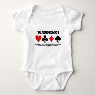 ¡Advertencia! Tengo una relación de amor y odio Body Para Bebé