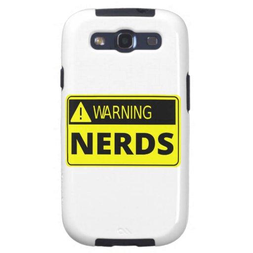 Advertencia: Travesía del empollón Galaxy S3 Fundas