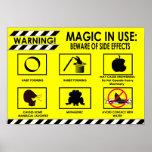 Advertencias mágicas: Poster