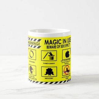 Advertencias mágicas: Taza