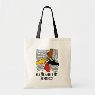 Advertise Your Business Budget Tote