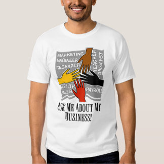 Business advertising clothing apparel zazzle for T shirt advertising business