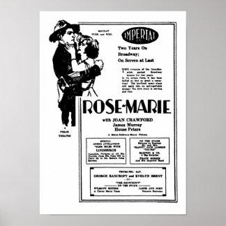 Advertisemen de la película muda de Joan Crawford  Póster