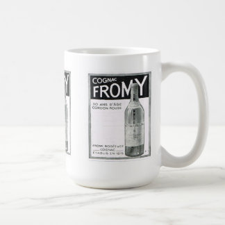 Advertisement, Cognac Fromy Coffee Mug