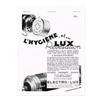 Advertisement, Electrolux Postcard