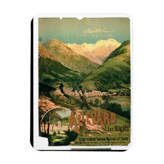 Advertisement for 'Allevard Les Bains', Isere (col Magnet