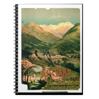 Advertisement for 'Allevard Les Bains', Isere (col Spiral Note Books