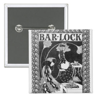 Advertisement for Bar-Lock Typewriters, c.1895 Button