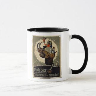 Advertisement for 'Bock Beer from Lowenbrau Brewer Mug
