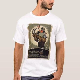 Advertisement for 'Bock Beer from Lowenbrau Brewer T-Shirt